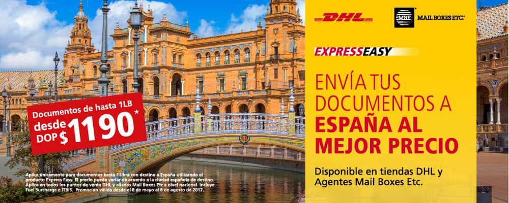 Oferta DHL a España